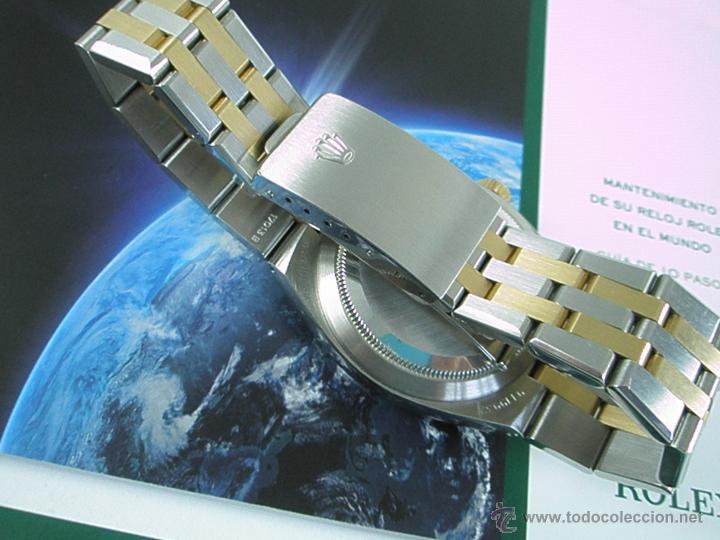 Relojes - Rolex: RELOJ-ROLEX-DATEJUST OYSTERQUARZ-17013-ACERO+ORO-COMO Nº-MUCHOS ACCESORIOS-Nuevo o como nuevo. - Foto 16 - 175823292