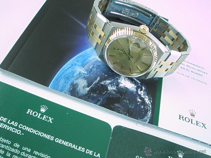 Relojes - Rolex: RELOJ-ROLEX-DATEJUST OYSTERQUARZ-17013-ACERO+ORO-COMO Nº-MUCHOS ACCESORIOS-Nuevo o como nuevo. - Foto 18 - 175823292