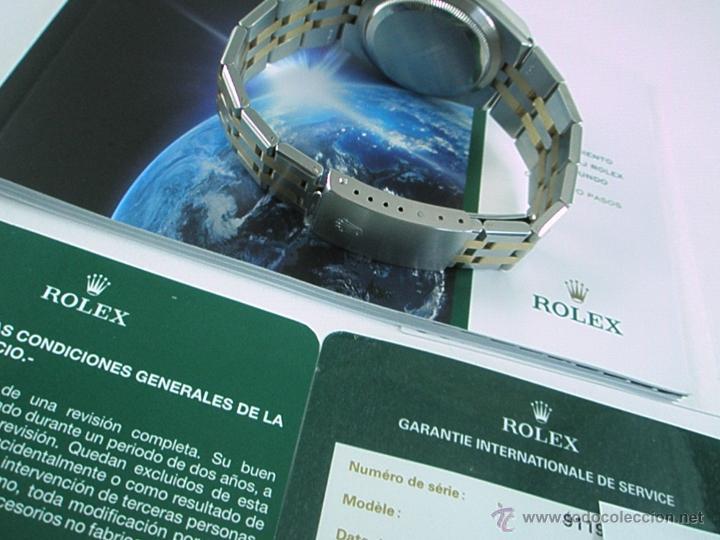 Relojes - Rolex: RELOJ-ROLEX-DATEJUST OYSTERQUARZ-17013-ACERO+ORO-COMO Nº-MUCHOS ACCESORIOS-Nuevo o como nuevo. - Foto 19 - 175823292