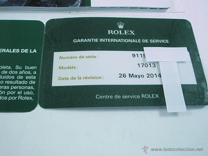 Relojes - Rolex: RELOJ-ROLEX-DATEJUST OYSTERQUARZ-17013-ACERO+ORO-COMO Nº-MUCHOS ACCESORIOS-Nuevo o como nuevo. - Foto 27 - 175823292