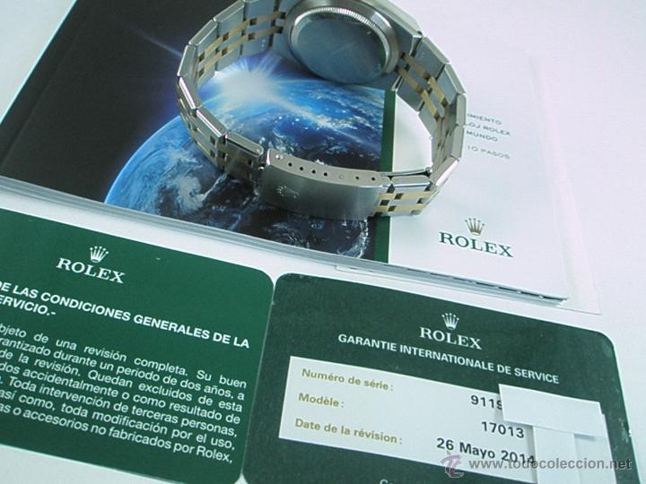 Relojes - Rolex: RELOJ-ROLEX-DATEJUST OYSTERQUARZ-17013-ACERO+ORO-COMO Nº-MUCHOS ACCESORIOS-Nuevo o como nuevo. - Foto 28 - 175823292