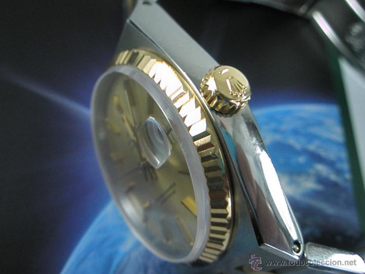 Relojes - Rolex: RELOJ-ROLEX-DATEJUST OYSTERQUARZ-17013-ACERO+ORO-COMO Nº-MUCHOS ACCESORIOS-Nuevo o como nuevo. - Foto 31 - 175823292