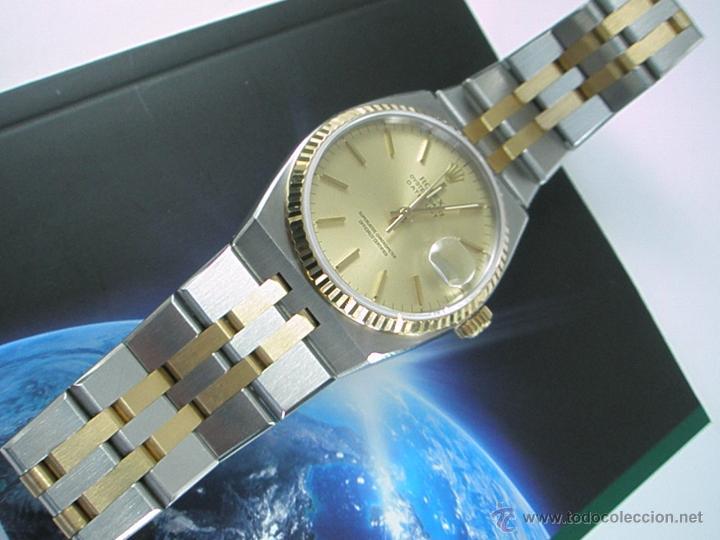 Relojes - Rolex: RELOJ-ROLEX-DATEJUST OYSTERQUARZ-17013-ACERO+ORO-COMO Nº-MUCHOS ACCESORIOS-Nuevo o como nuevo. - Foto 39 - 175823292