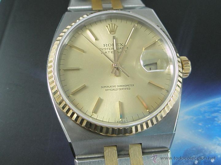 Relojes - Rolex: RELOJ-ROLEX-DATEJUST OYSTERQUARZ-17013-ACERO+ORO-COMO Nº-MUCHOS ACCESORIOS-Nuevo o como nuevo. - Foto 40 - 175823292