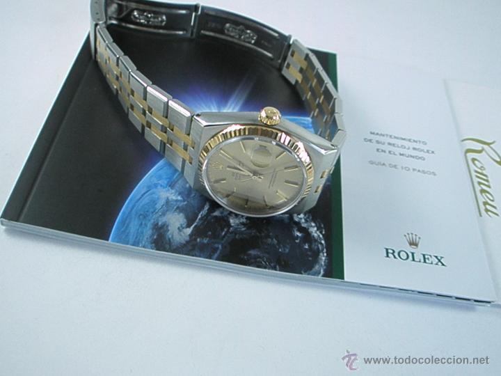 Relojes - Rolex: RELOJ-ROLEX-DATEJUST OYSTERQUARZ-17013-ACERO+ORO-COMO Nº-MUCHOS ACCESORIOS-Nuevo o como nuevo. - Foto 41 - 175823292