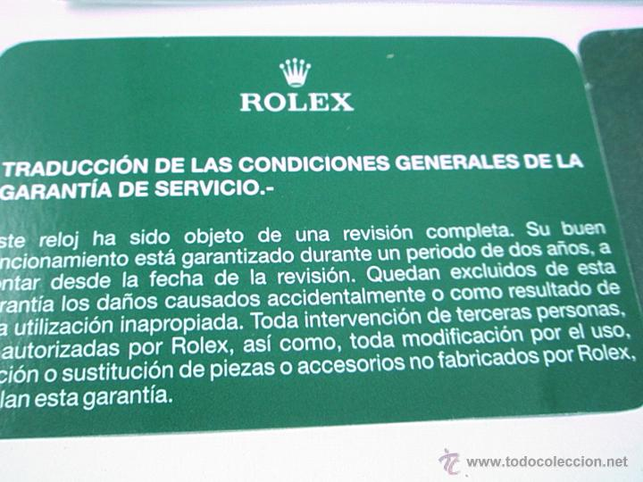 Relojes - Rolex: RELOJ-ROLEX-DATEJUST OYSTERQUARZ-17013-ACERO+ORO-COMO Nº-MUCHOS ACCESORIOS-Nuevo o como nuevo. - Foto 42 - 175823292