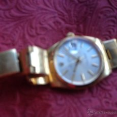 Relojes - Rolex: ROLEX DE ORO OYSTER PERPETUAL DATE CON CAJA. Lote 53879591