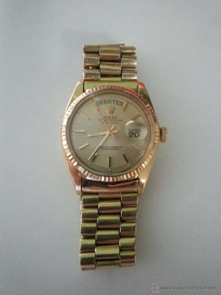 f912fca9928 ROLEX OYSTER PERPETUAL DAY-DATE ORO 18K PRESIDENT (Relojes - Relojes  Actuales - Rolex