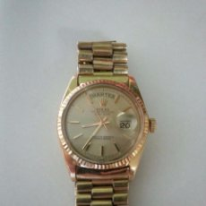 Relojes - Rolex: ROLEX OYSTER PERPETUAL DAY-DATE ORO 18K PRESIDENT. Lote 51976003
