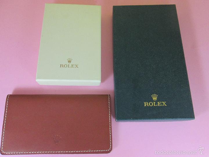 Relojes - Rolex: RELOJ-ROLEX-DATEJUST OYSTERQUARZ-17013-ACERO+ORO-COMO Nº-MUCHOS ACCESORIOS-Nuevo o como nuevo. - Foto 7 - 175823292