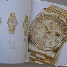 Relojes - Rolex: LUJOSO CATALOGO DE ROLEX. Lote 61330551