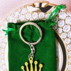 Relojes - Rolex: LLAVERO PORTA-LLAVES CON LA BONITA CORONA ROLEX - NUEVO A ESTRENAR - CROMO BRILLO ¡OFERTA!!!!!!!!!!!. Lote 79968045