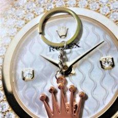 Relojes - Rolex: LLAVERO PORTA-LLAVES CORONA ROLEX - NUEVO A ESTRENAR - CHAPADO ORO ROSA - ¡¡¡OFERTA!!!!!!!!!!. Lote 79969157