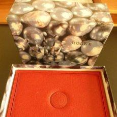 Relojes - Rolex: IMPECABLE CAJA DE PIEL DE RELOJ ROLEX , TAMBIÉN CON LA CAJA DE CARTÓN ORIGINAL. Lote 83047796