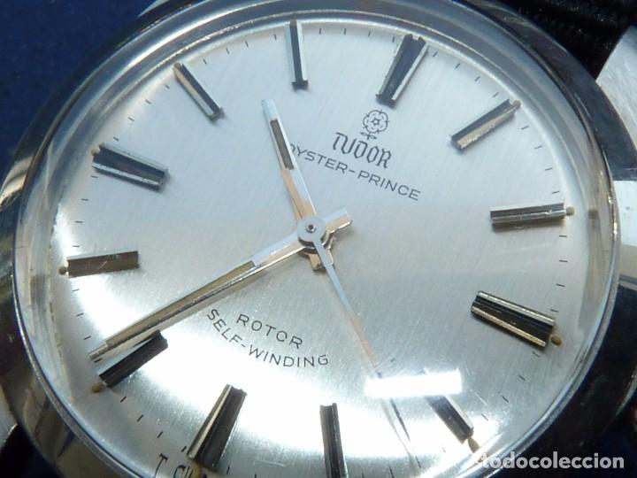 Relojes - Rolex: ELEGANTE RELOJ ROLEX TUDOR AUTOMATICO 1966 MODELO 7995 CALIBRE 2483 CAJA OYSTER ACERO 17 RUBIS - Foto 4 - 84419164