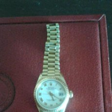 Relojes - Rolex: ROLEX SEÑORA OYSTER PERPETUAL DATE JUST DE ORO. Lote 103815703