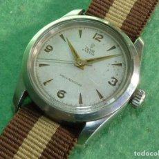 Relojes - Rolex: PRECIOSO RELOJ TUDOR ROLEX 40´S MODELO 7904 CALIBRE 1182 CAJA OYSTER ACERO 17 RUBIS RANGER EXPLORER. Lote 106176847