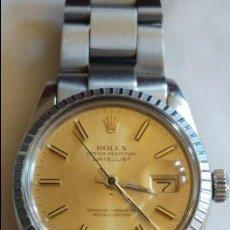 Relojes - Rolex: ROLEX OYSTER PERPETUAL DATEJUST REF.16013 CAJAS Y REVISION ESTADO BUENO VER FOTOS Y DETALLES. Lote 106912443