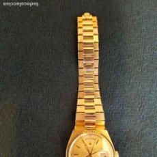 Relojes - Rolex: RELOJ ROLEX PRESIDENT DE ORO DE 18KILATES. Lote 112088935