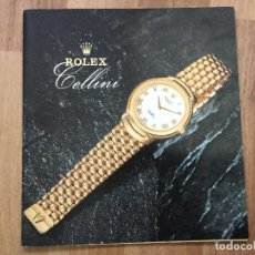Relojes - Rolex: CATALOGO RELOJ ROLEX CELLINI COLLECTION 1991 1990. Lote 121968507