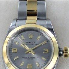 Relojes - Rolex: RELOJ SRA ROLEX ACERO Y ORO REF 76183. Lote 132550970