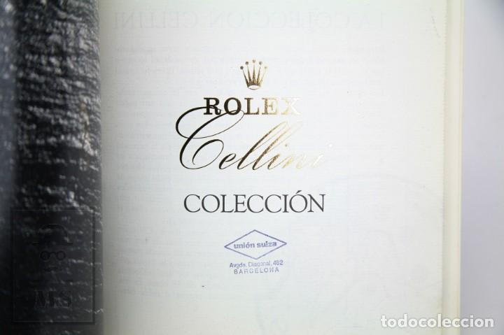 Relojes - Rolex: Catálogo de Relojes de Pulsera y Lista de Precios Año 1987 - Rolex. Cellini - Suiza, 1990 - Foto 3 - 136778662
