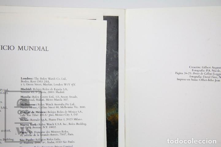 Relojes - Rolex: Catálogo de Relojes de Pulsera y Lista de Precios Año 1987 - Rolex. Cellini - Suiza, 1990 - Foto 5 - 136778662