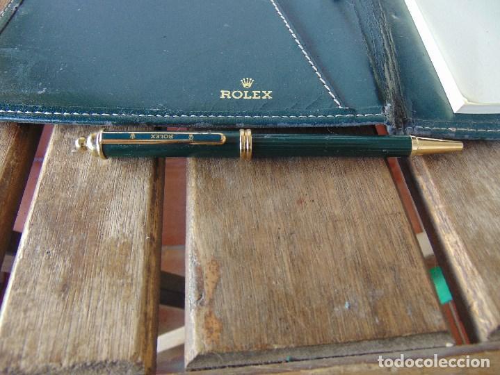 Relojes - Rolex: ANTIGUA AGENDA CON BOLI BOLIGRAFO DE LA MARCA ROLEX ROCES - Foto 13 - 143283290