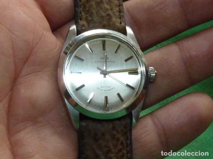 Relojes - Rolex: ELEGANTE RELOJ ROLEX TUDOR AUTOMATICO 1966 MODELO 7995 CALIBRE 2483 CAJA OYSTER ACERO 17 RUBIS - Foto 9 - 84419164