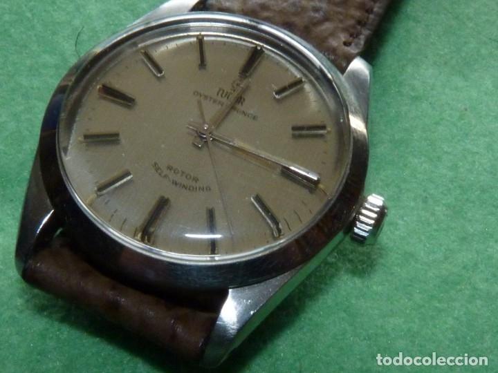 Relojes - Rolex: ELEGANTE RELOJ ROLEX TUDOR AUTOMATICO 1966 MODELO 7995 CALIBRE 2483 CAJA OYSTER ACERO 17 RUBIS - Foto 14 - 84419164