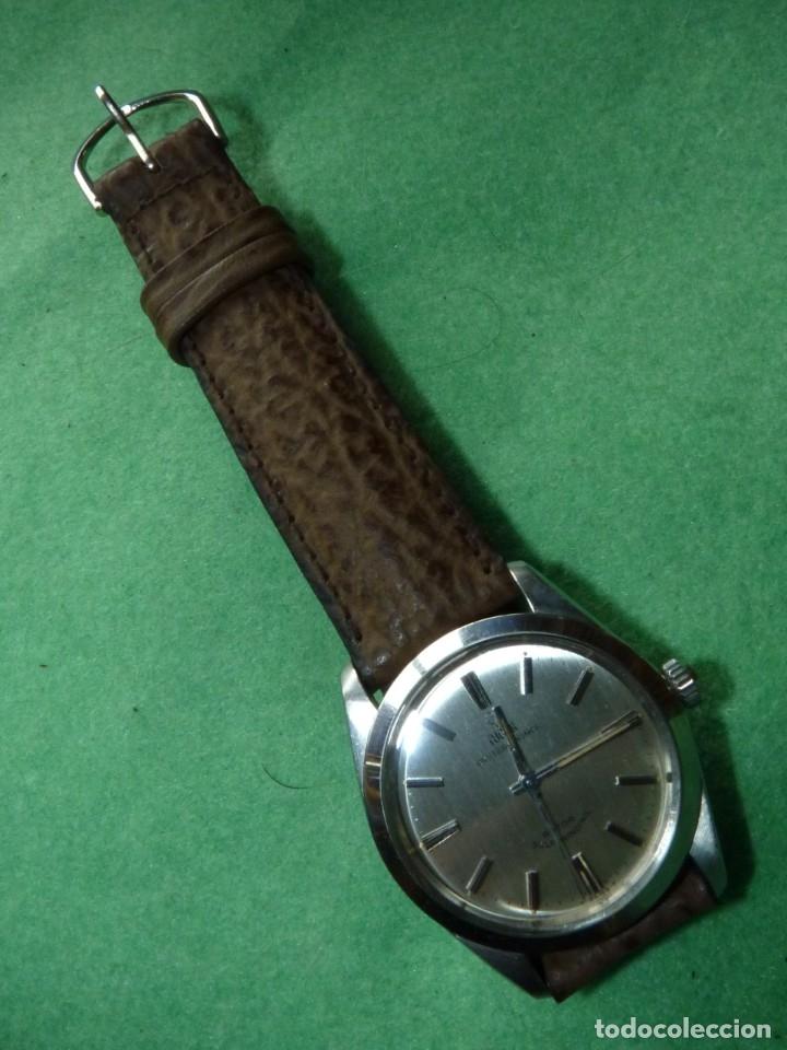 Relojes - Rolex: ELEGANTE RELOJ ROLEX TUDOR AUTOMATICO 1966 MODELO 7995 CALIBRE 2483 CAJA OYSTER ACERO 17 RUBIS - Foto 15 - 84419164