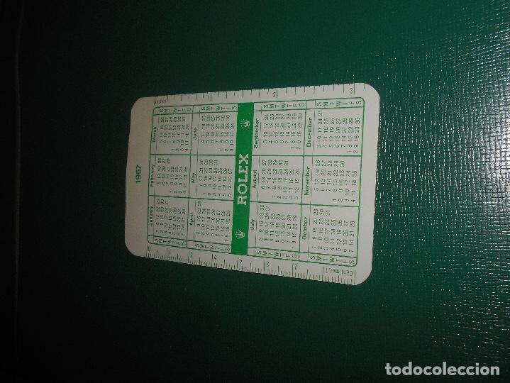 Relojes - Rolex: Carpeta vintage Corporativa Calendario GREEN ROLEX Año 1967 1968 67 68 doble SUBMARINER DAYTONA RARO - Foto 6 - 146288810