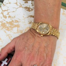 Relojes - Rolex: ROLEX DAMA DATEJUST EN ORO DE 18 K. Lote 148277882