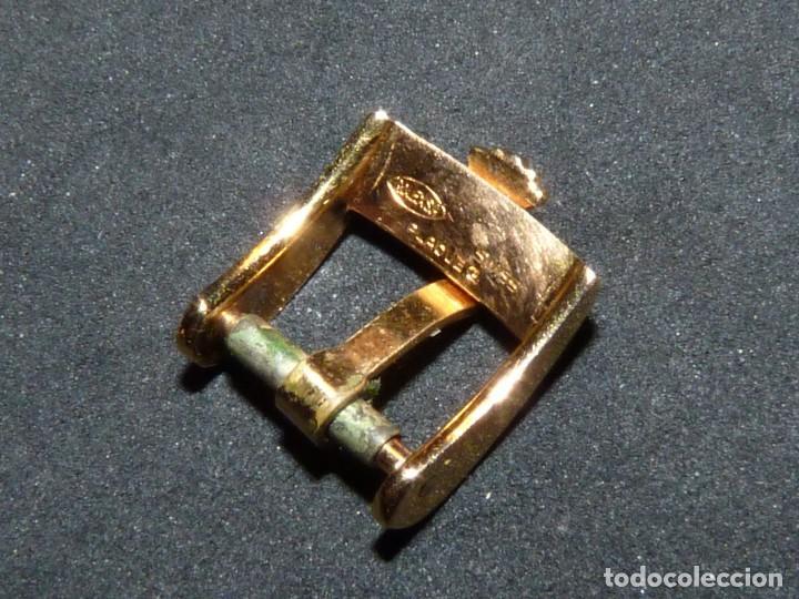 Relojes - Rolex: Curiosa hebilla Rolex correa original vintage 10 mms swiss made Rolex S.A. chapada oro - Foto 4 - 150701434