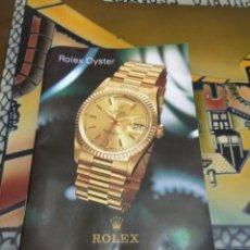 Relojes - Rolex: CATÁLOGO RELOJ ROLEX, ORIGINAL. Lote 154491218