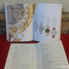 Relojes - Rolex: CATÁLOGO Y LISTA DE PRECIOS ROLEX 2002. Lote 154580562
