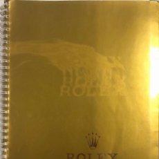 Relojes - Rolex: ROLEX 1985-1986. CATALOGO CON NUMEROSAS FOTOGRAFIAS Y MODELOS DE LA EPOCA.. Lote 155565398
