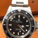 Relojes - Rolex: ROLEX SUBMARINER REF.5513 RELOJ EN MUY BUEN ESTADO PRECIO NEGOCIABLE RELOJ MUY BUSCADO. Lote 160529442