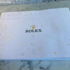 Relojes - Rolex: CATÁLOGO DE ROLEX 2012-2013. Lote 161569222