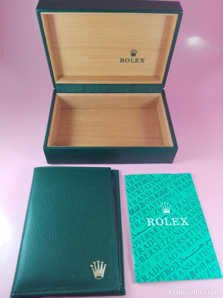 Relojes - Rolex: RELOJ-ROLEX-DATEJUST OYSTERQUARZ-17013-ACERO+ORO-COMO Nº-MUCHOS ACCESORIOS-Nuevo o como nuevo. - Foto 49 - 175823292