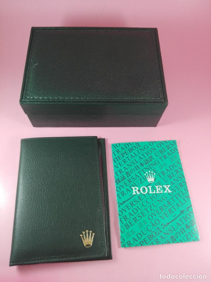 Relojes - Rolex: RELOJ-ROLEX-DATEJUST OYSTERQUARZ-17013-ACERO+ORO-COMO Nº-MUCHOS ACCESORIOS-Nuevo o como nuevo. - Foto 51 - 175823292