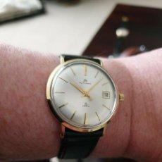Relojes - Rolex: RELOJ DE HOMBRE AUTOMATICO EN ORO MACIZO DE 18 KT MARCA BUCHERER (CASA ROLEX)DE 25 JOYAS,FUNCIONANDO. Lote 166098378