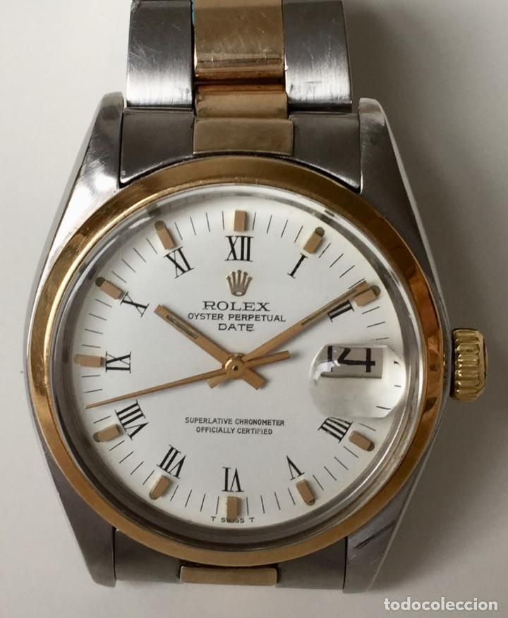 ROLEX OYSTER PERPETUAL DATE ORO 18KTS-ACERO ¡¡COMO NUEVO!! (Relojes - Relojes Actuales - Rolex)