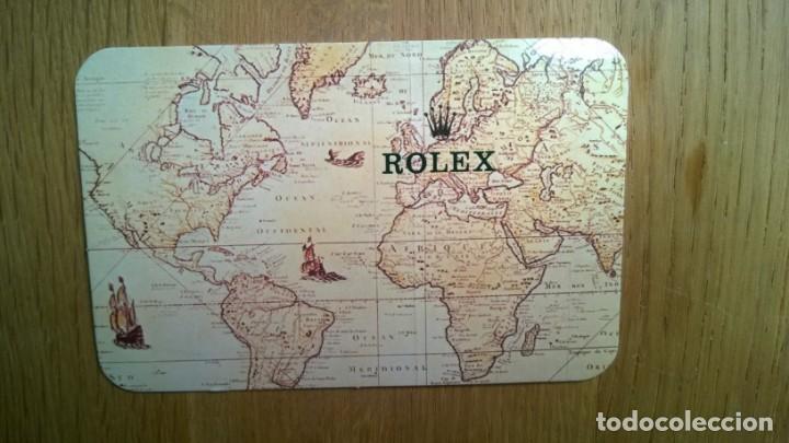 CALENDARIO**ROLEX**1989/1990 ( ORIGINAL)--- PERFECTO ESTADO (Relojes - Relojes Actuales - Rolex)