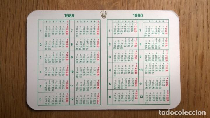 Relojes - Rolex: Calendario**ROLEX**1989/1990 ( Original)--- Perfecto estado - Foto 2 - 169793680