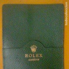 Relojes - Rolex: ROLEX GENEVE CARTERA BOLSILLO PORTA DOCUMENTOS GARANTIAS SIMILAR ANTIGUA. Lote 170294792