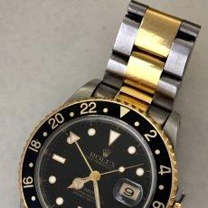Relojes - Rolex: ROLEX GMT MASTER ORO 18KT Y ACERO COMO NUEVO. Lote 172354562