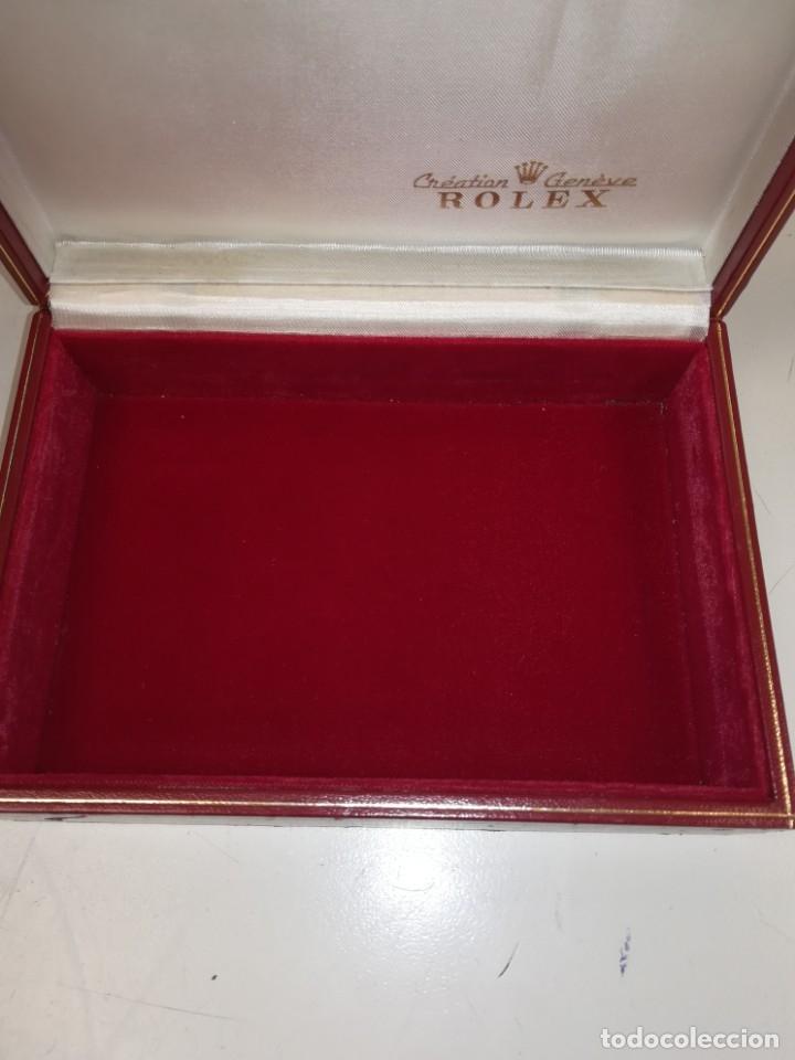 Relojes - Rolex: Caja original para reloj Rolex Geneve Suisse 60.01.2 - Foto 6 - 176309592