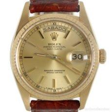 Relojes - Rolex: ROLEX DAY-DATE ORO 1978 REF.18038. Lote 178892982