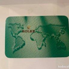 Relojes - Rolex: ROLEX CALENDARIO DE BOLSILLO AÑO 2000 / 2001 -ORIGINAL- MED.: 10X6,5 CMS. (G). Lote 178960256